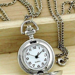 ON SALE - Horse Mini Pocket Watch Long Necklace
