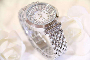 Feshionn IOBI Watches Spectacle Deluxe Austrian Crystal Luxury Ladies Watch in Two Colors