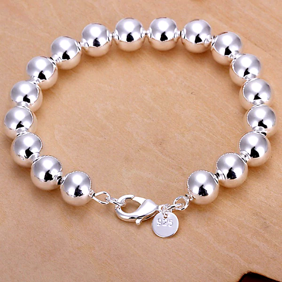 Feshionn IOBI bracelets Silver ON SALE - Bold Beads Sterling Silver Bracelet