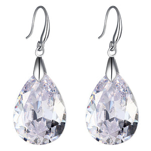 Grandeur Infused 10.2 Carat Zirconia Earrings