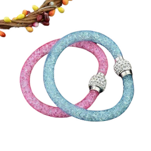 Galaxy Stardust Shamballa Bracelet For Woman