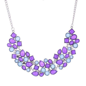 ON SALE - Fab Form Crystal Collar Necklace - In Four Colors