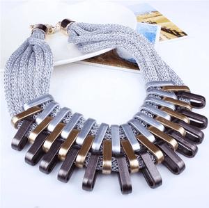 Bronze Age Collar Necklace in Three Colors
