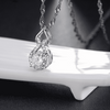 Image of ON SALE - Sweet Embrace CZ Diamond Necklace