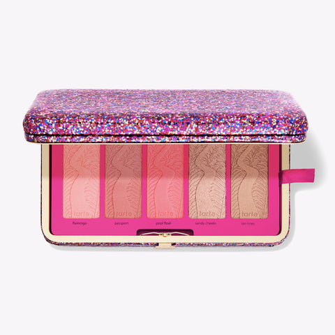 life of the party clay blush palette & clutch
