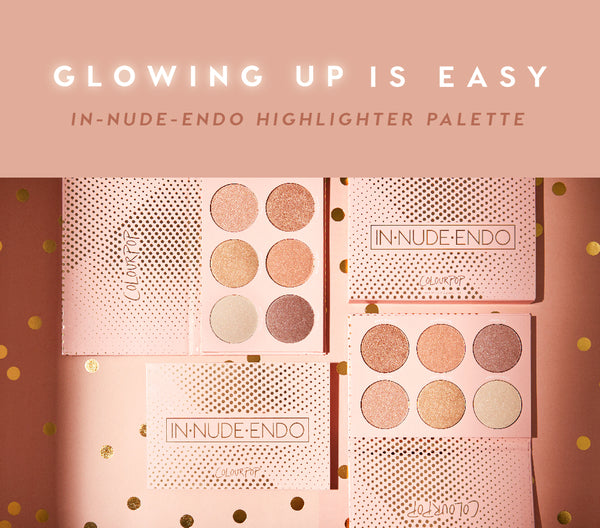 IN-NUDE-ENDO Pressed Powder Highlighter Palette