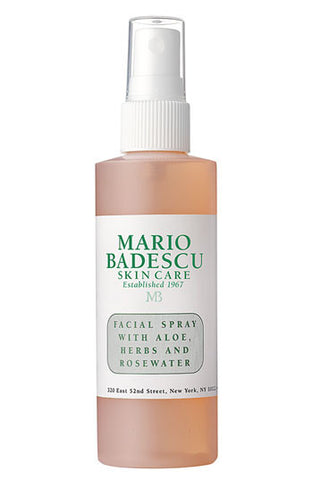 Facial Spray with Aloe, Herbs & Rosewater-4.0 oz