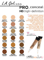 L.A. Girl Pro Conceal HD Concealer- Warm Honey GC982