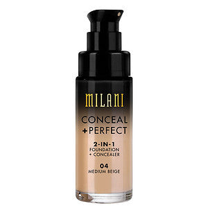 Conceal + Perfect 2-in-1 Foundation + Concealer- Medium Beige (04)