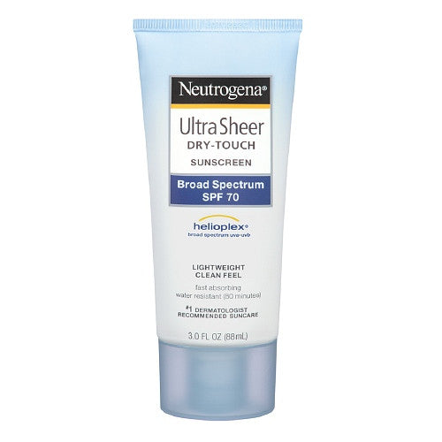 Neutrogena Ultra Sheer Body Mist Sunscreen, SPF 45 5 oz (141 g)
