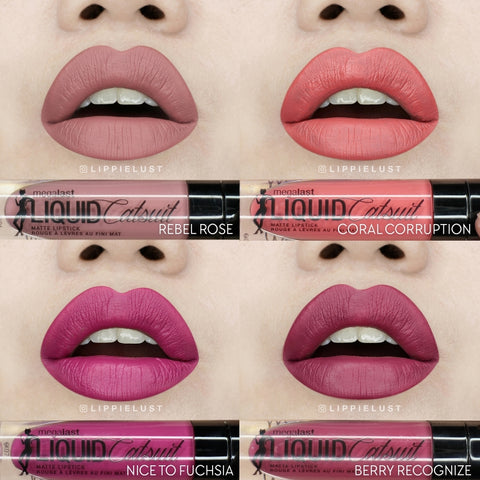 Wet n Wild MegaLast Liquid Catsuit Lipstick- Set 1