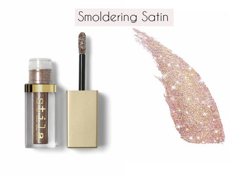 Stila Magnificent Metals Glitter & Glow Liquid Eyeshadow - Smoldering Satin