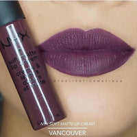 NYX Soft Matte Lip Cream, Vancouver