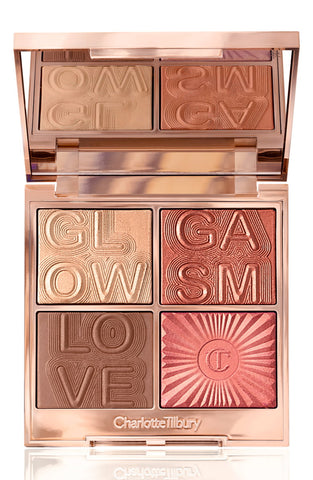 Glowgasm Face Palette - Lovegasm (Medium dark)