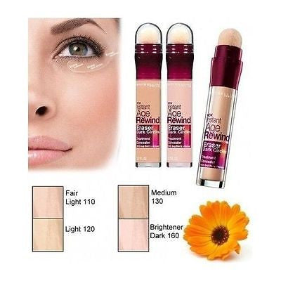 Instant Age Rewind Eraser Dark Circles Concealer Treatment -130/Medium