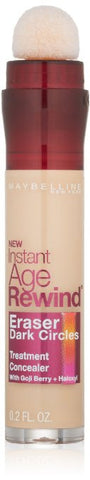 Maybelline Instant Age Rewind Eraser Dark Circles Concealer Treatment, Naturalizer