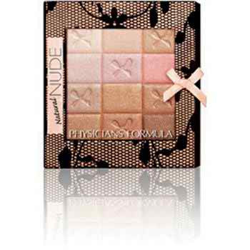 Shimmer Strips All-in-1 Custom Nude Palette for Face & Eyes,- Natural Nude
