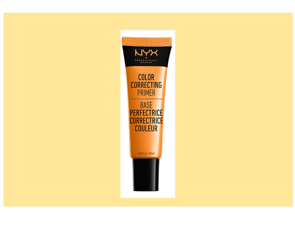 NYX Professional Makeup Color Correcting Liquid Primer, Peach 1.38 oz.