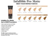 L'oreal Infallible 24h Matte Foundation (105 Natural Beige)