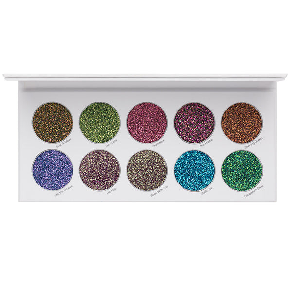 Night Moves Shade Shift - Pressed Glitter Palette