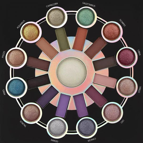 Zodiac 25 Color Eyeshadow And Highlighter Palette by BH Cosmetics #14