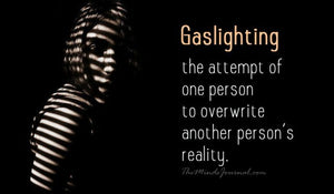 What is Gaslighting in a relationship?