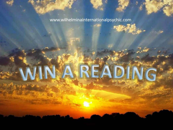 WIN A PSYCHIC READING COMPETITION