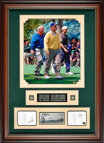 Golf Champions – Arnold Palmer, Jack Nicklaus and Tiger Woods