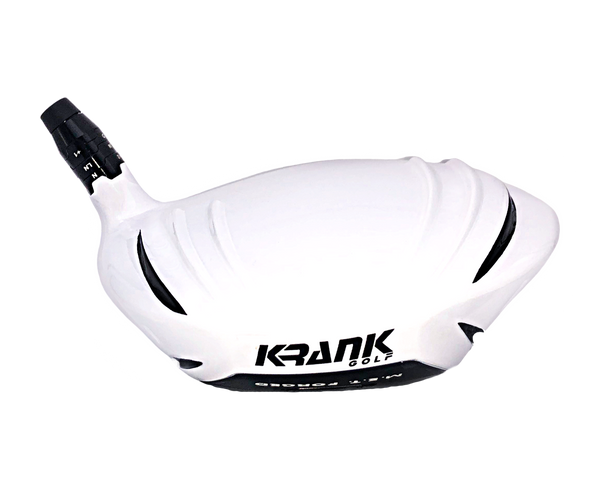 Krank Formula 11 PRO (White) Driver-USGA Conforming-Rated For Average Drives of 260 Yards or Longer (HEAD ONLY)