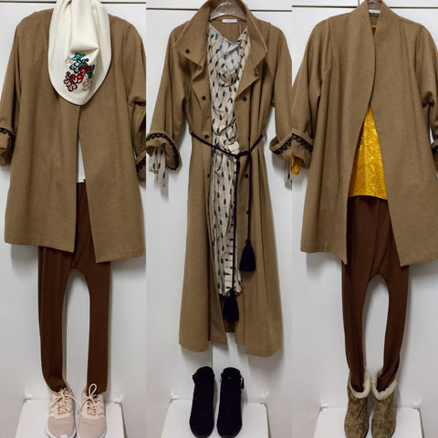Keeping Your Palette Neutral To Your Camel Coat