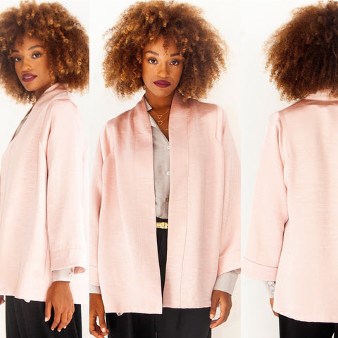 Frost Pink Robe Jacket