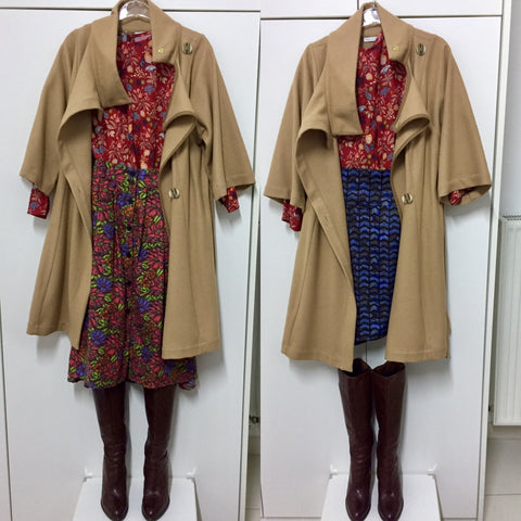 Playing With Prints And Your Camel Coat
