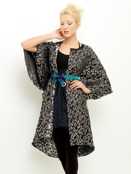 Graphic Jacquard Coat