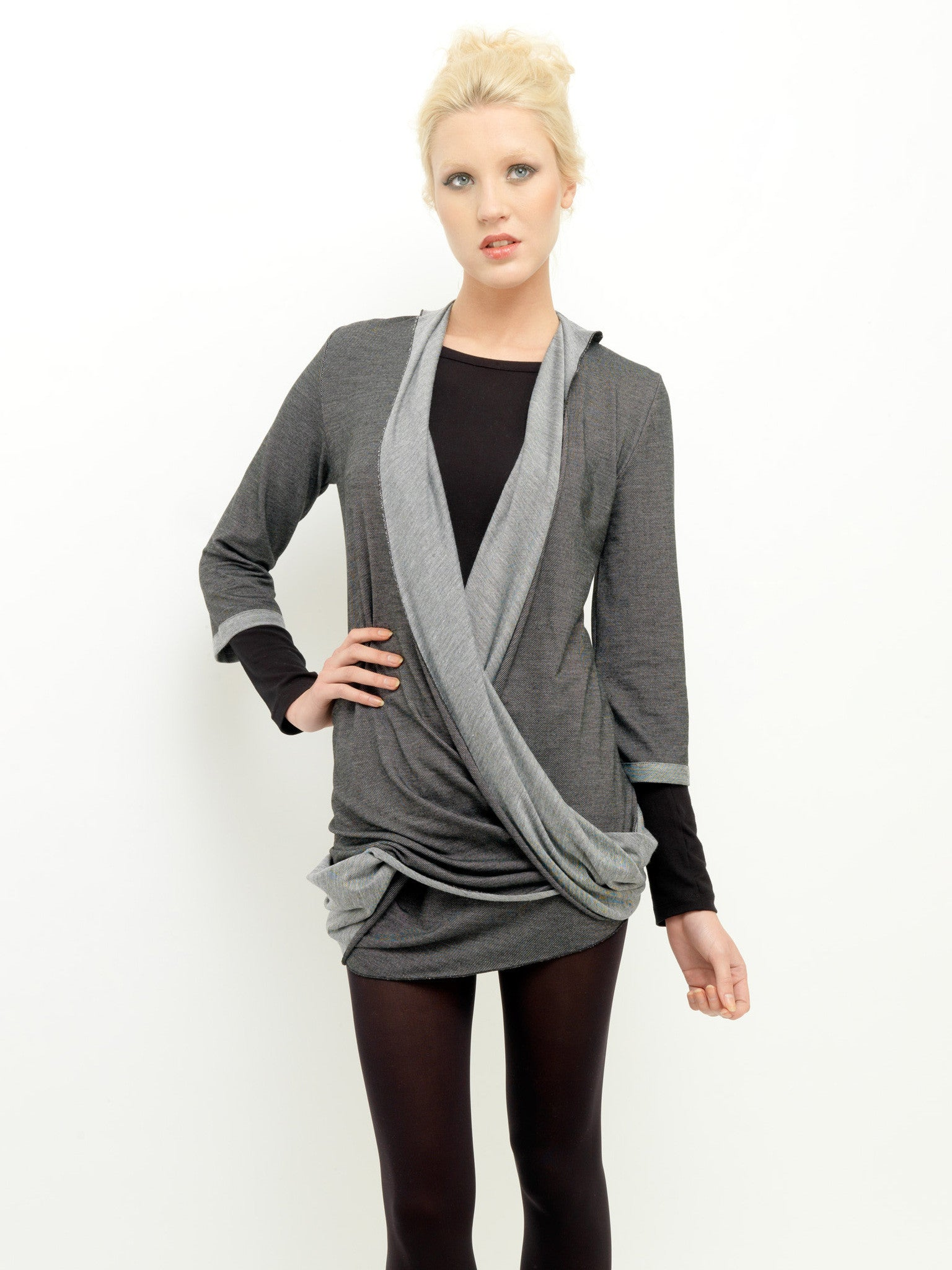 Two Tone Twist Top