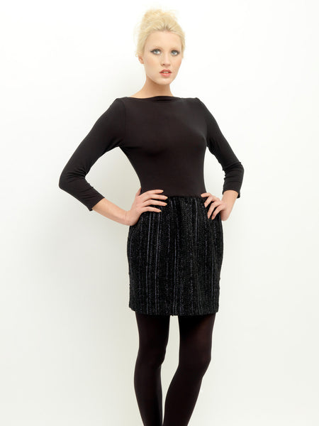 Wool Lurex Dress