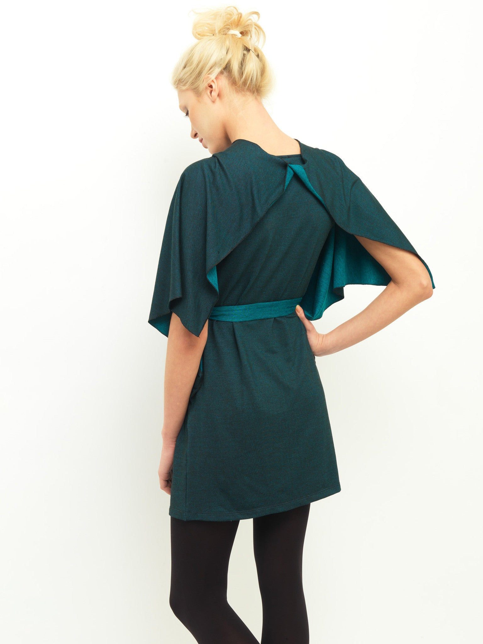 Two Tone Wing Dress