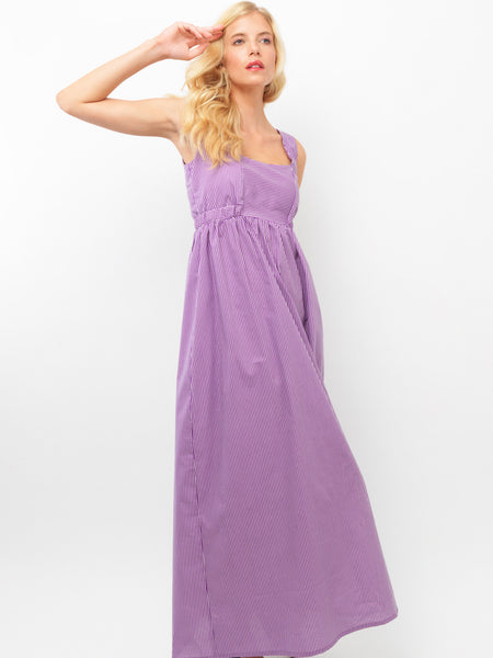 Purple Empire Dress