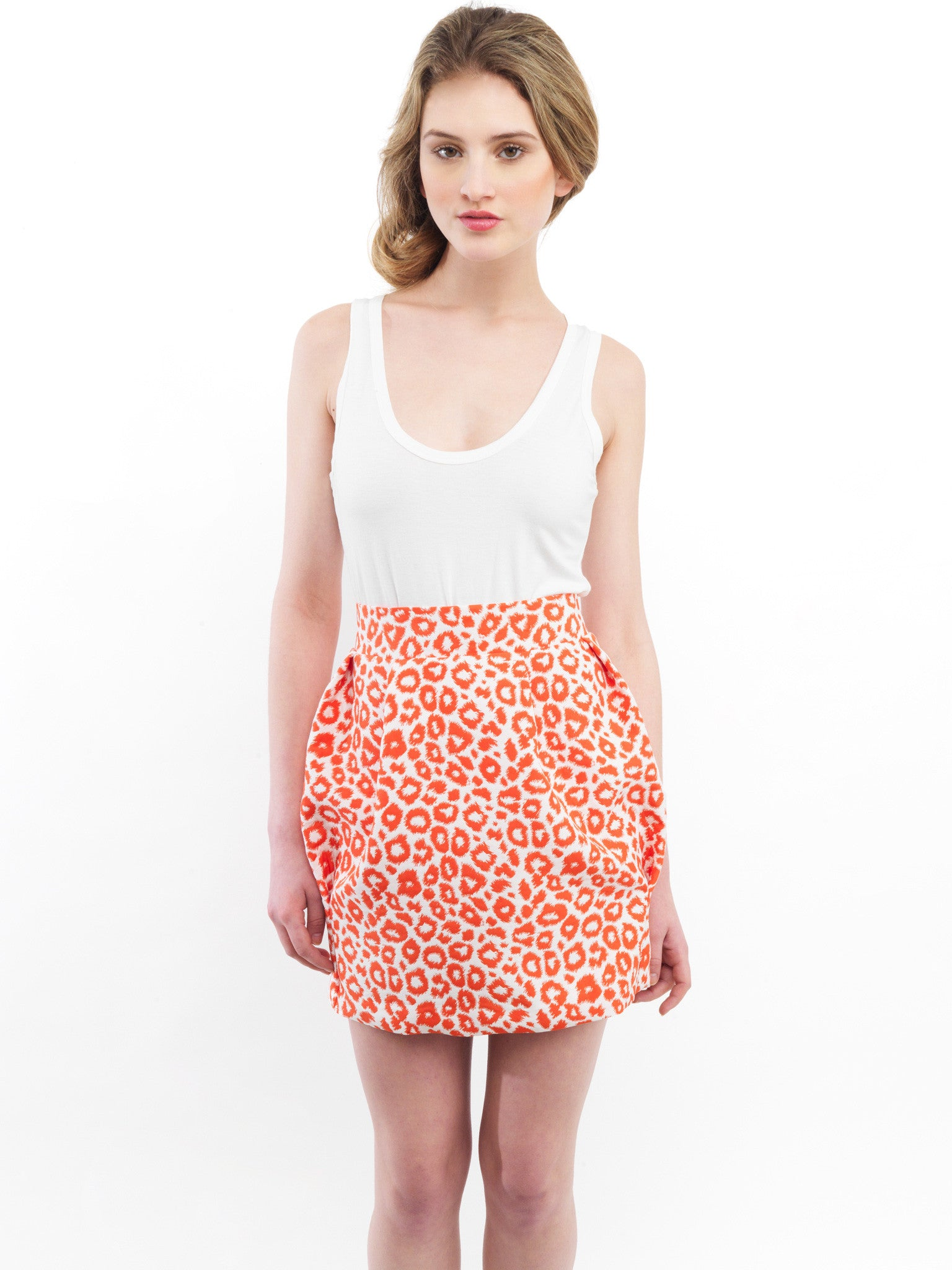 Animal Tulip Skirt