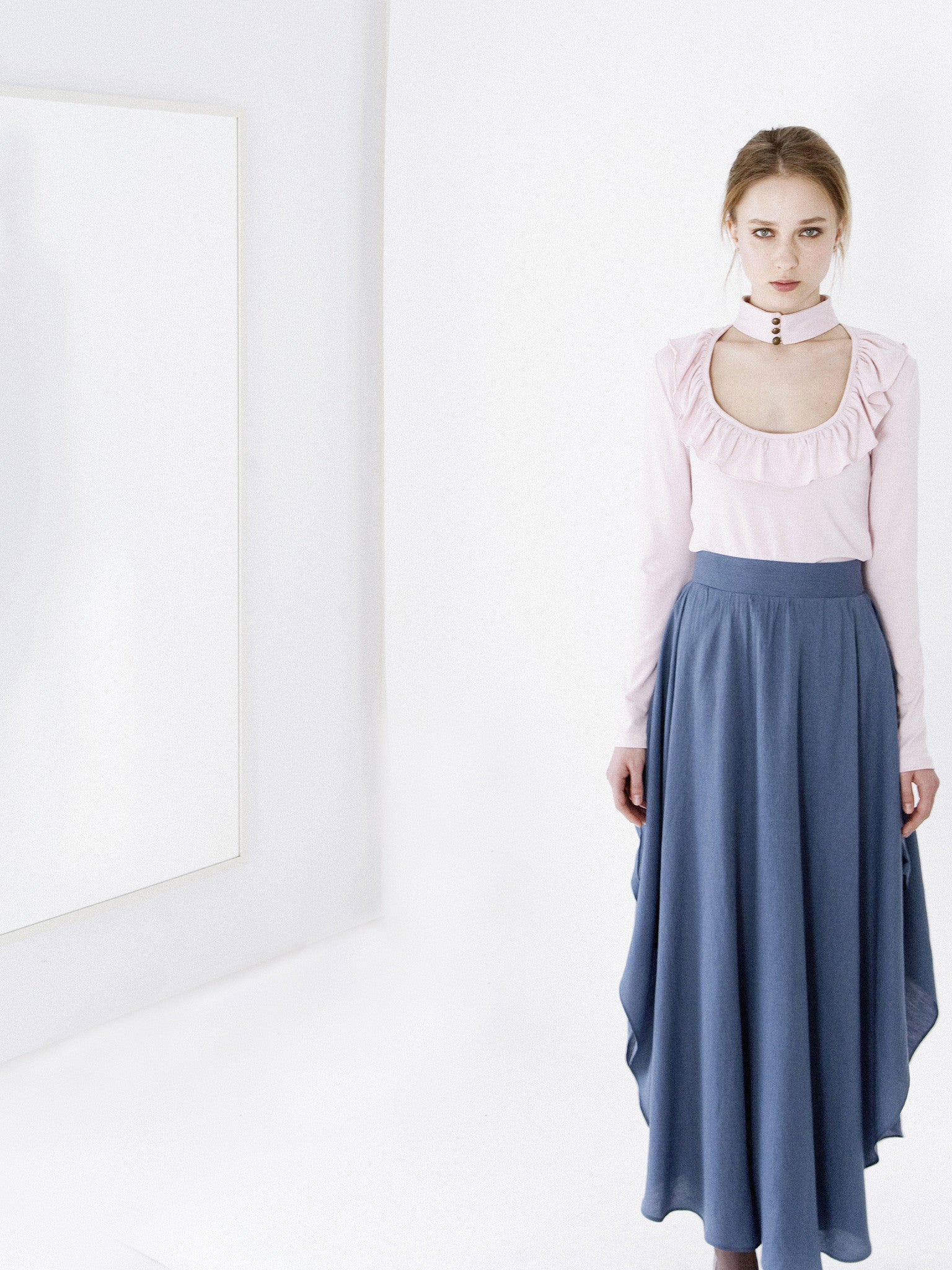 Blush Frill Top & First Love Skirt