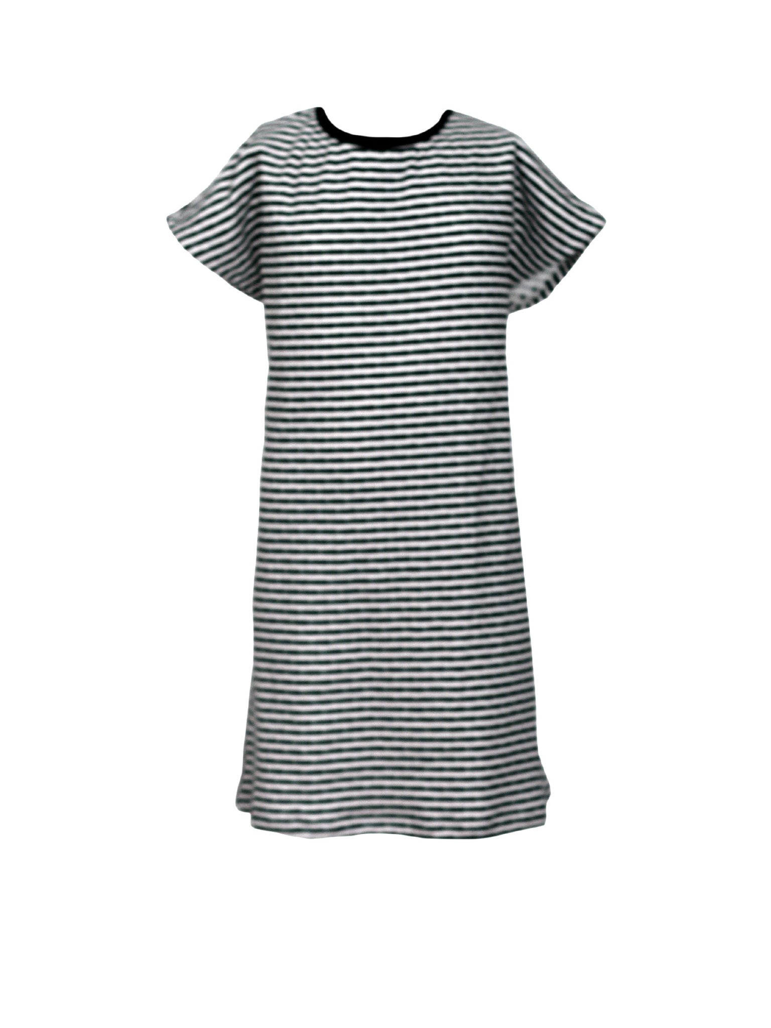 Double Sided Organic Cotton T-Shirt Dress