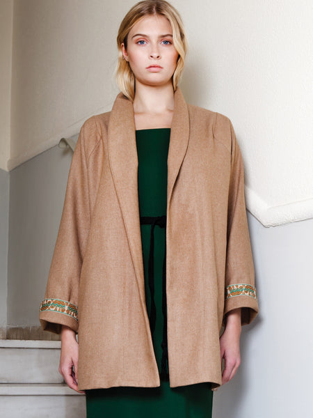Goes With Everything Camel Coat