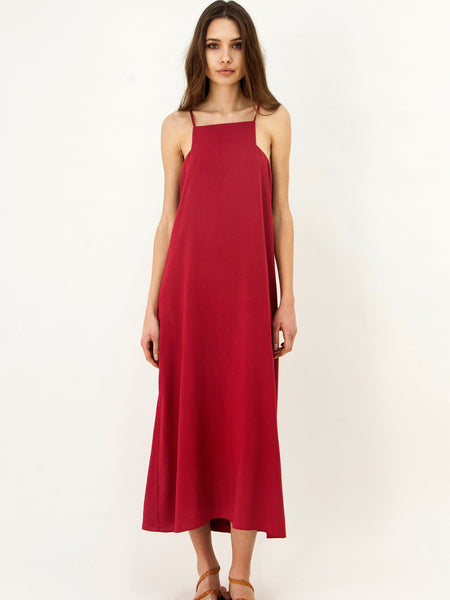 Dress Hellas Dress Crimson
