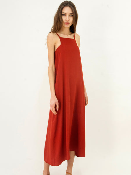 Dress Hellas Dress Rust