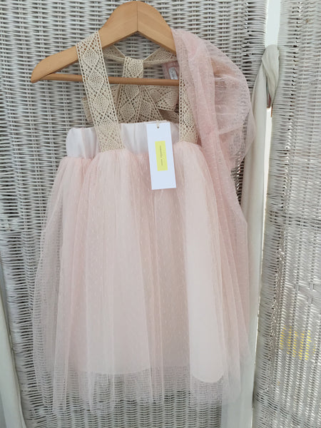 Pink Spot Tulle Dress