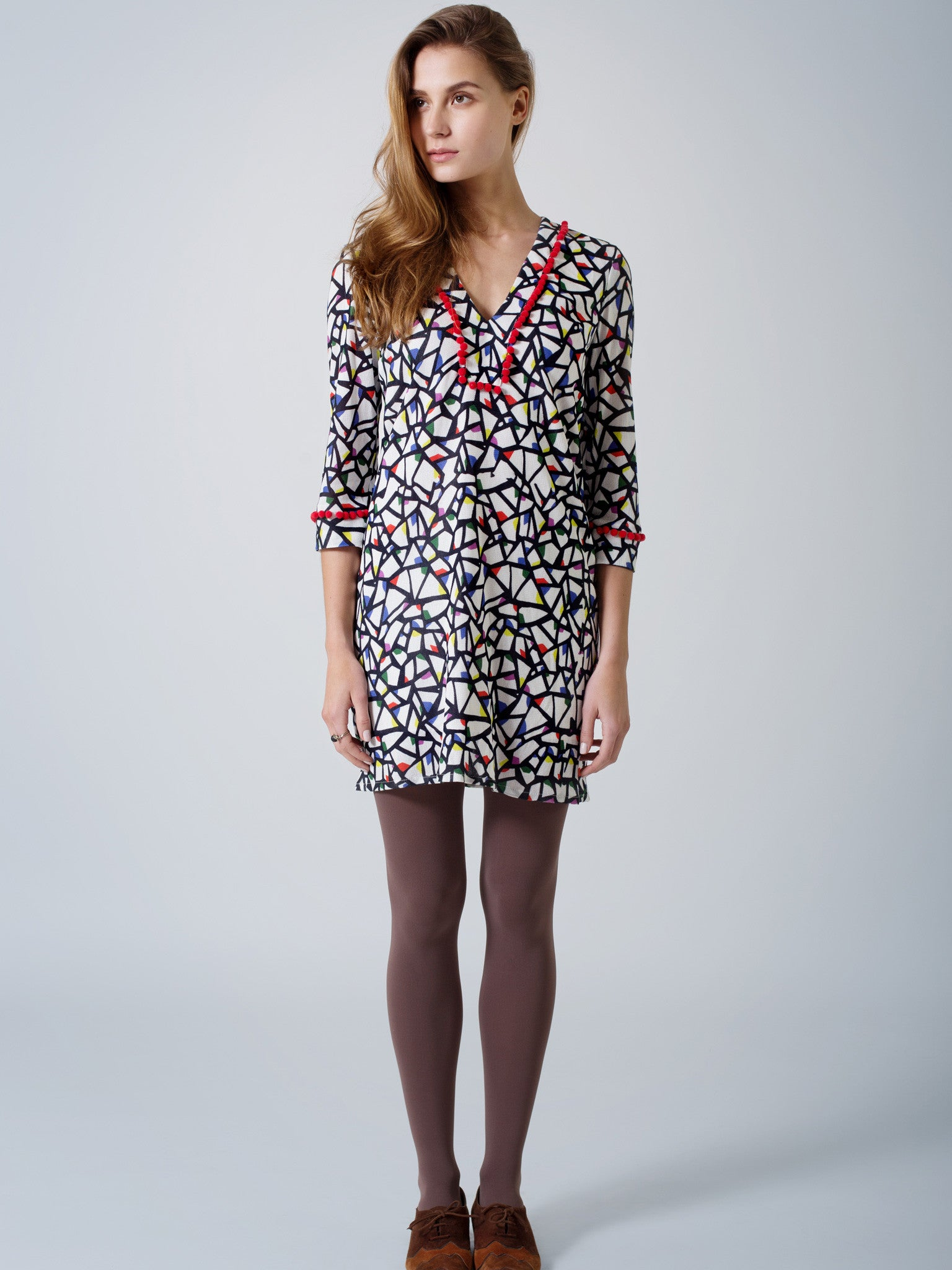 Partridge Print Tunic