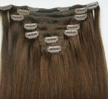 clip in extensions #60 platinum  blonde