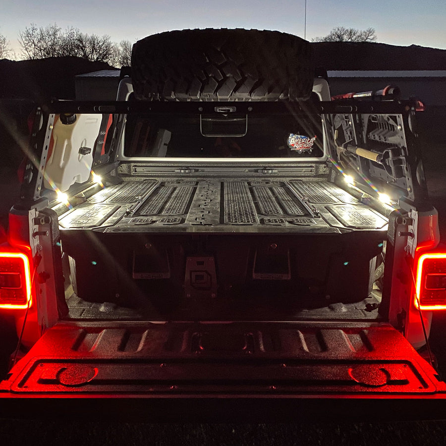 Jeep Gladiator LED Bed Lighting