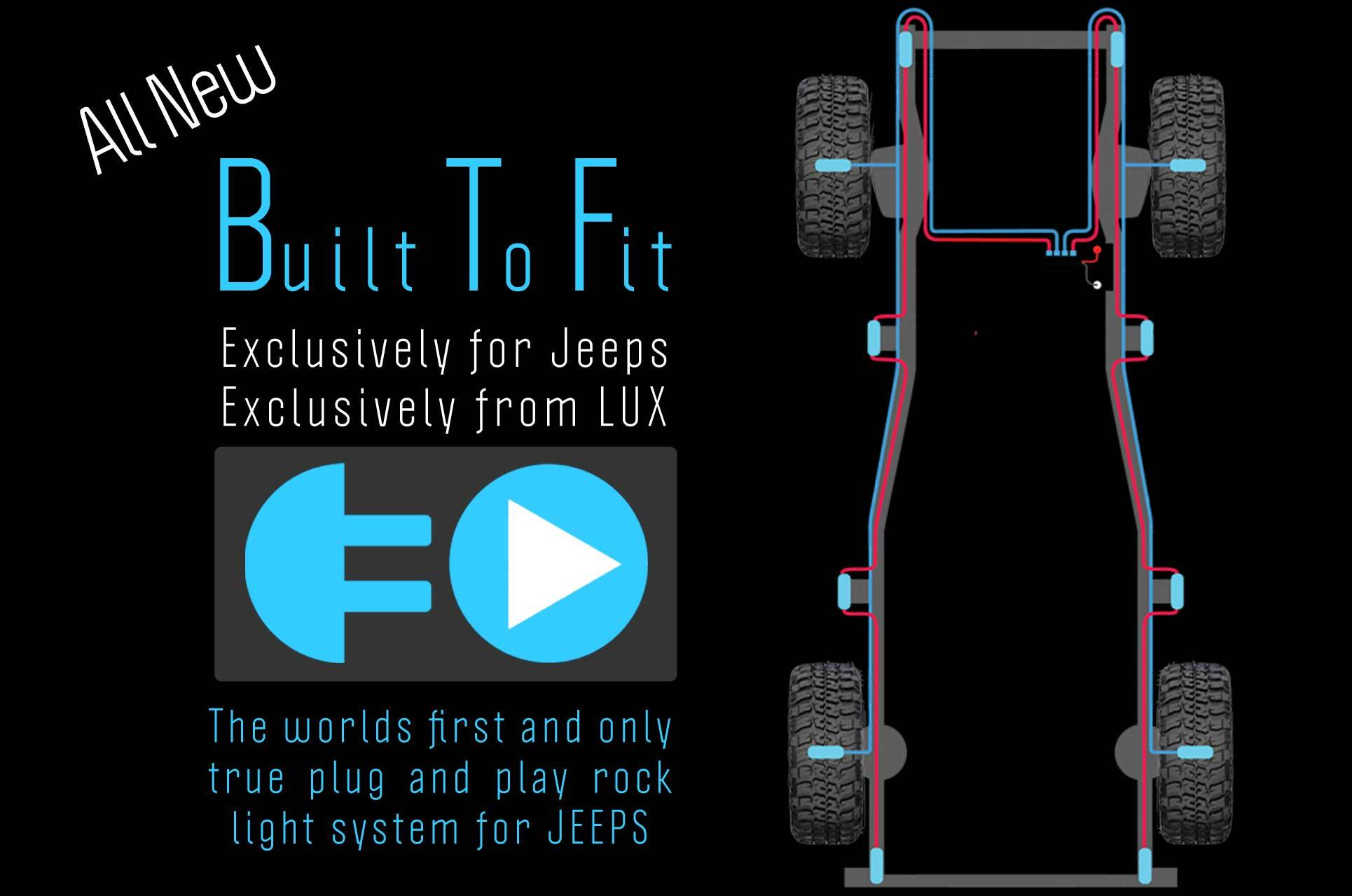 f Road LED Lighting Products LED Rock Lights for Jeep Rock Crawler