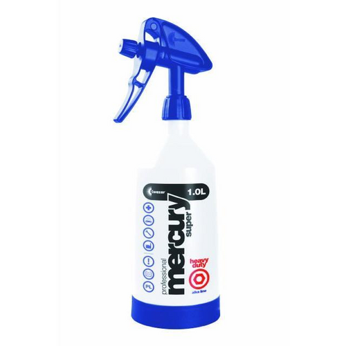 KWAZAR - Mercury 1.0  Litre Double Action Trigger Sprayer (Alkaline)