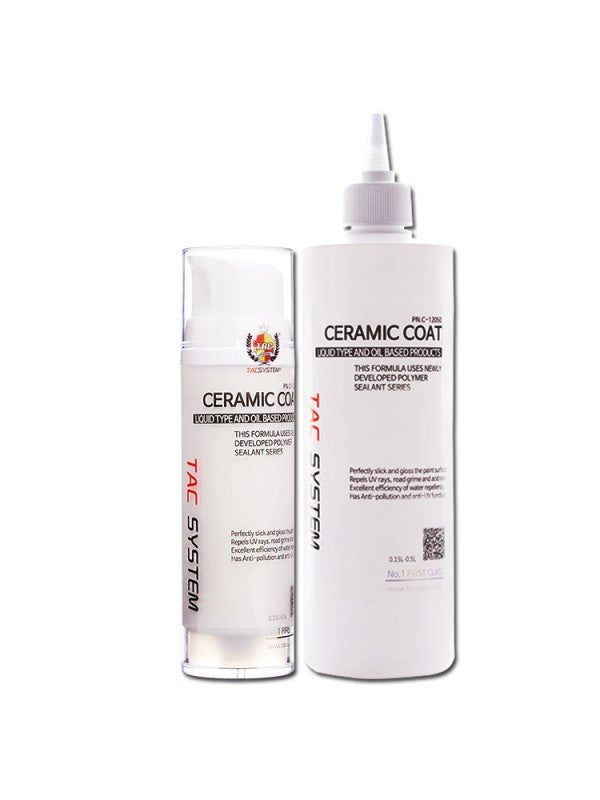 TAC Systems - Ceramic Coat (Hydrophobic Polymer Sealant, High Gloss and Protecti